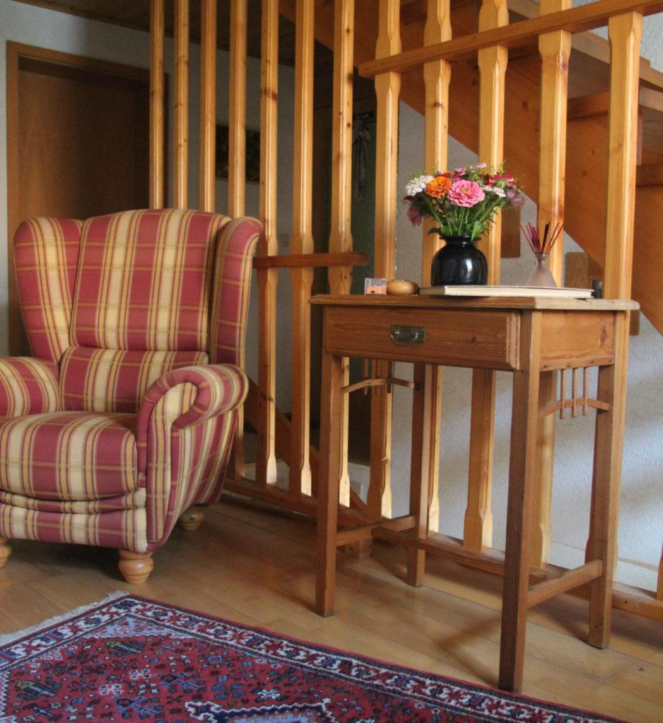 Eingangsbereich Gästezimmer Kirchleus